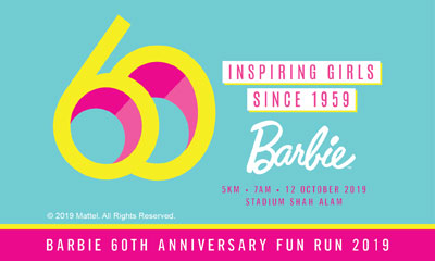 Barbie 60th Anniversary Run 2019