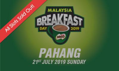Malaysia Breakfast Day Run Pahang 2019