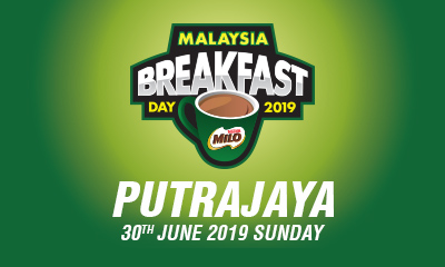 Malaysia Breakfast Day Run Putrajaya 2019 (30th June 2019, Sunday)