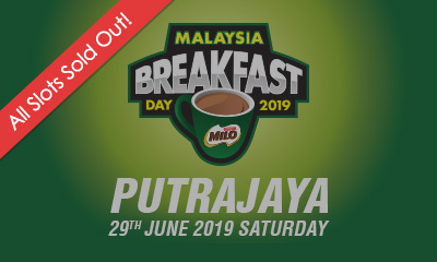 Malaysia Breakfast Day Run Putrajaya 2019 (29th June 2019, Saturday)