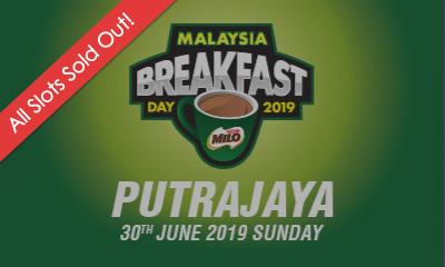 Malaysia Breakfast Day Run Putrajaya 2019 (30th June 2019, Sunday)