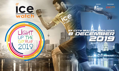 Ice-Watch Light Up The Day Run 2019