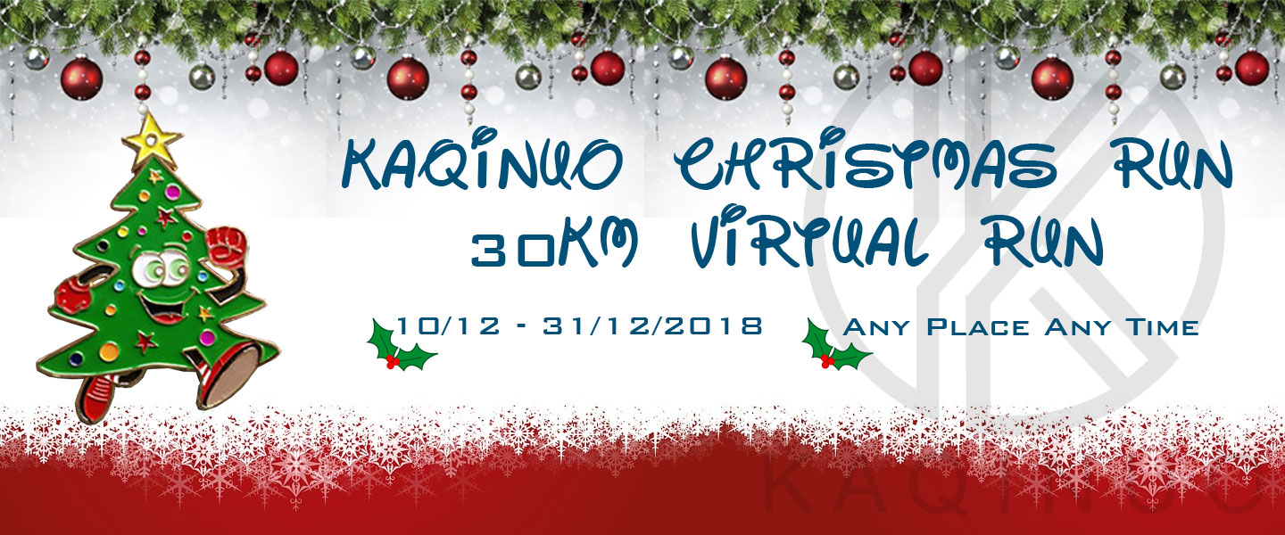 RACEXASIA | Kaqinuo Christmas 30KM Virtual Run