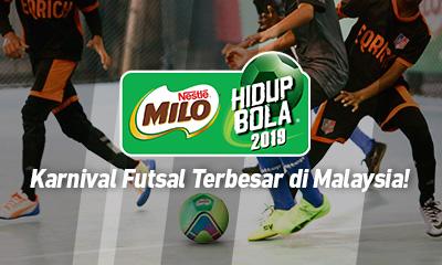 Karnival Futsal Milo Hidup Bola 2019
