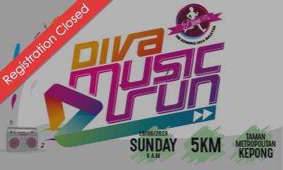 The Running Diva Malaysia Music Run 2019