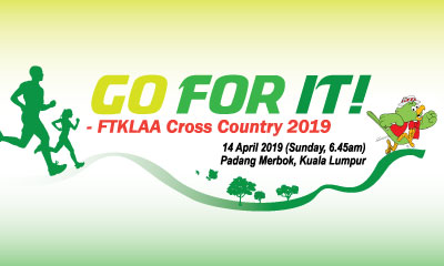 GO FOR IT! FTKLAA Cross Country 2019