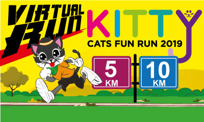 Kitty Cats Fun Run Virtual Run 2019