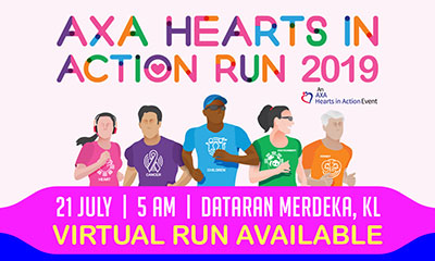 AXA Hearts In Action Run 2019