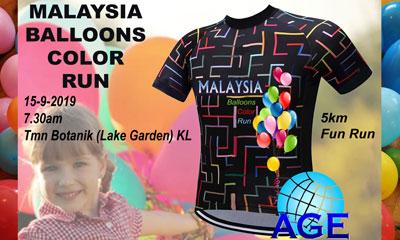 Malaysia Balloons Color Run 2019