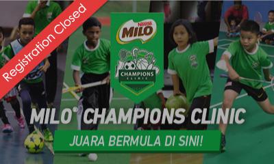 MILO Champions Clinic 2019