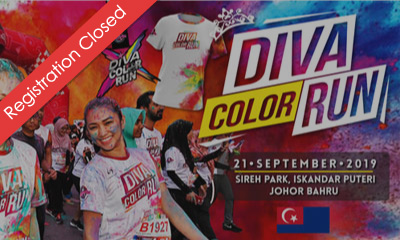 The Running Diva Malaysia Color Run (Johor) 2019