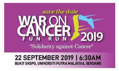 War-On-Cancer Fun Run 2019