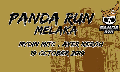 Panda Run Melaka 2019