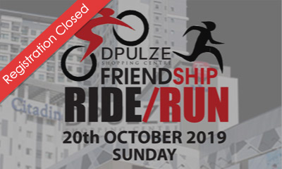 Dpulze Friendship Ride/Run 2019
