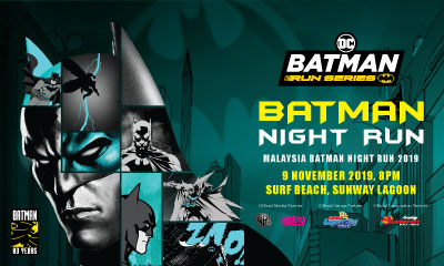Batman 80th Anniversary Night Run