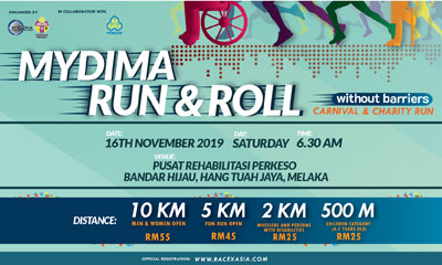 MYDIMA Run & Roll Carnival & Charity Run 2019