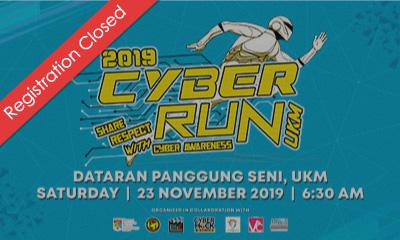 Cyber Run UKM 2019