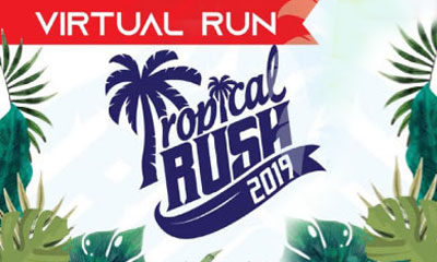 Tropical Rush 5k Virtual Run 2019