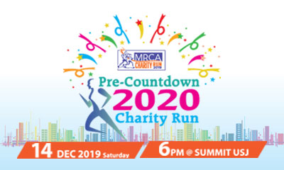 Pre-Countdown 2020: MRCA Charity Run 2019