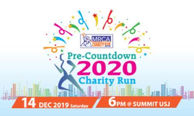 Pre-Countdown 2020: MRCA Charity Run 2019
