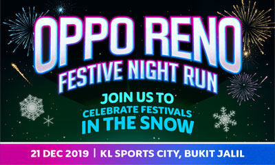 OPPO Reno Festive Night Run