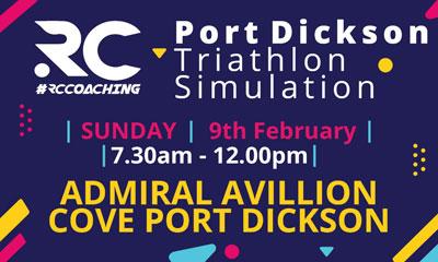 RC Port Dickson Triathlon Simulation