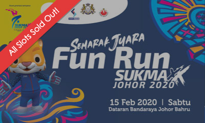 Semarak Juara Fun Run Sukma XX Johor 2020