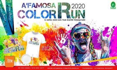 A Famosa Color Run 2020
