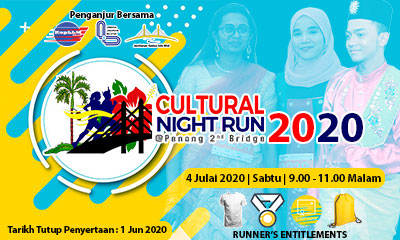 Cultural Night Run @ Penang 2nd Bridge
