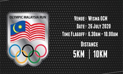 Olympic Malaysia Run 2020