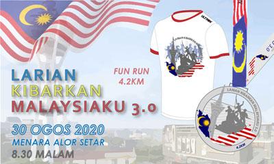 Larian Kibarkan Malaysiaku 3.0