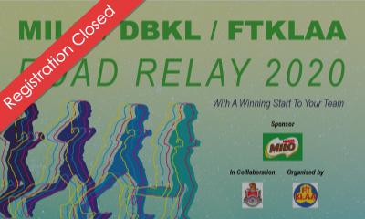 MILO/DBKL/FTKLAA Road Relay 2020