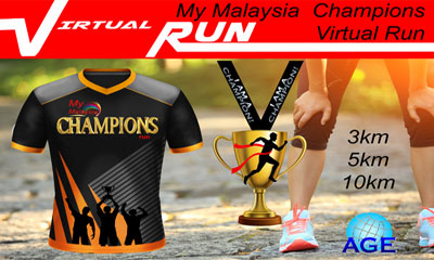 AGE My Malaysia Champion Virtual Run