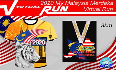 AGE My Malaysia Merdeka Virtual Run