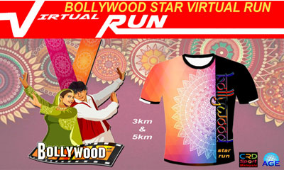 AGE Bollywood Star Virtual Run