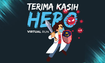 Terima Kasih My Hero Virtual Run