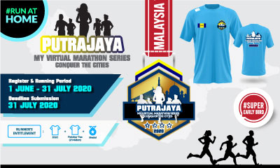 MY Virtual Marathon Series – Conquer the Cities (Putrajaya)
