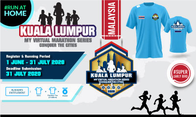 MY Virtual Marathon Series – Conquer the Cities (KL)