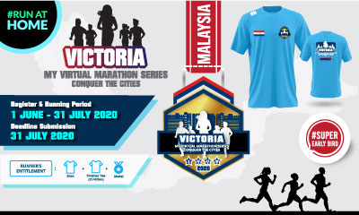 MY Virtual Marathon Series 2020 – Conquer the Cities (Victoria Labuan)
