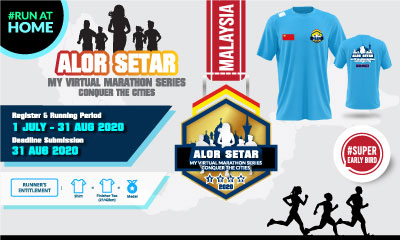 MY Virtual Marathon Series – Conquer the Cities (Alor Setar)