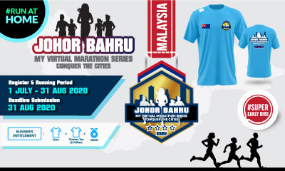 MY Virtual Marathon Series – Conquer the Cities (Johor Bahru)