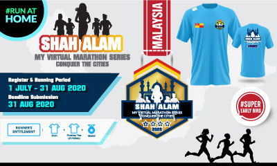 MY Virtual Marathon Series – Conquer the Cities (Shah Alam)