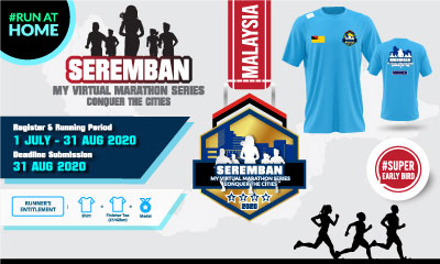 MY Virtual Marathon Series – Conquer the Cities (Seremban)