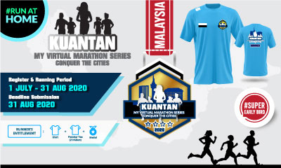 MY Virtual Marathon Series – Conquer the Cities (Kuantan)