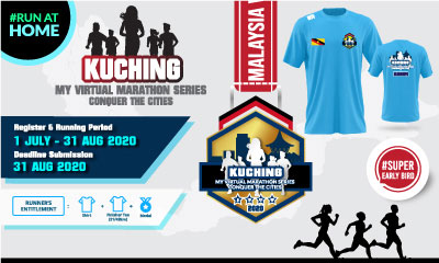 MY Virtual Marathon Series – Conquer the Cities (Kuching)