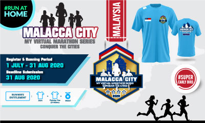 MY Virtual Marathon Series – Conquer the Cities (Malacca City)