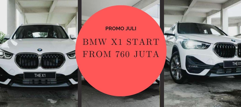 <p>BMW X1 START FROM 760 Juta</p>