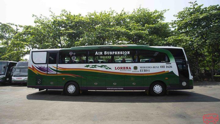 Jakarta To Jambi Lorena Bus