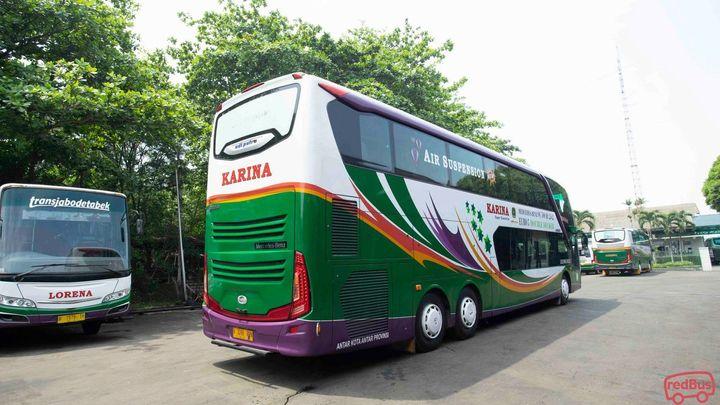 Sumenep(madura) To Jakarta Karina Bus