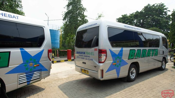 Tangerang To Bandung Baraya Travel Bus